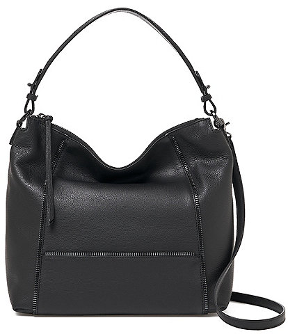 Botkier Soho Leather Dual Top Handle Hobo Bag