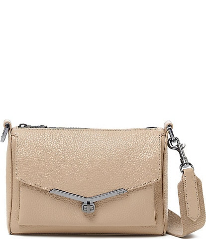 Botkier Valentina Pebble Leather Crossbody Bag