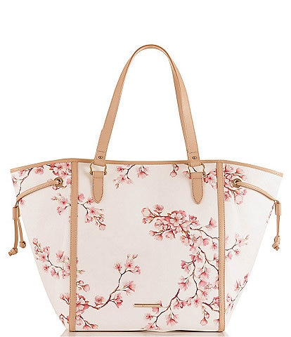 BRAHMIN Blossom Kentish Collection Cheyenne Open Tote