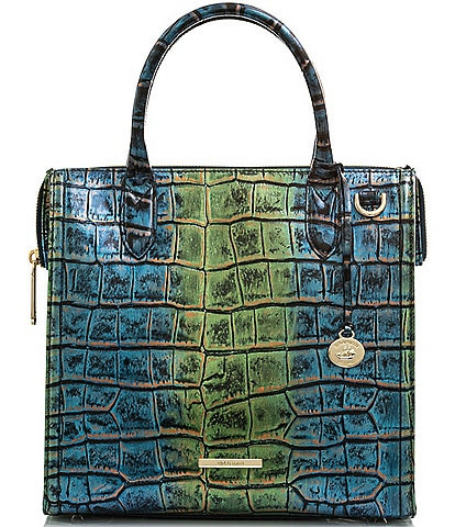 BRAHMIN Celtica Collection Caroline Satchel Bag