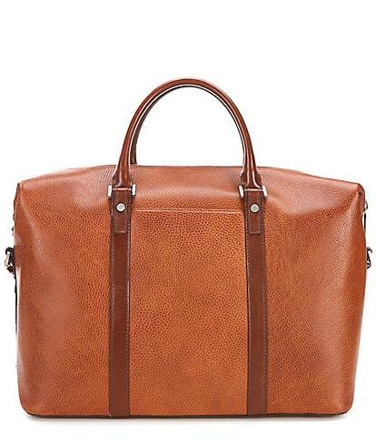 BRAHMIN Duxbury Pebbled Leather Duffel Bag