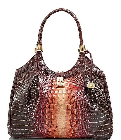 BRAHMIN Gables Collection Celia Satchel Bag