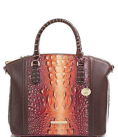 BRAHMIN Gables Collection Duxbury Leather Satchel Bag