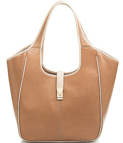 BRAHMIN Henderson Collection Carla Leather Tote Bag