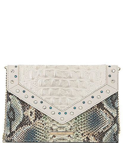 BRAHMIN Lillium Collection Kylie Envelope Clutch Bag