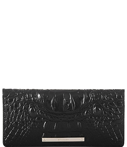5ec60511ee28 BRAHMIN Melbourne Collection Ady Crocodile-Embossed Wallet