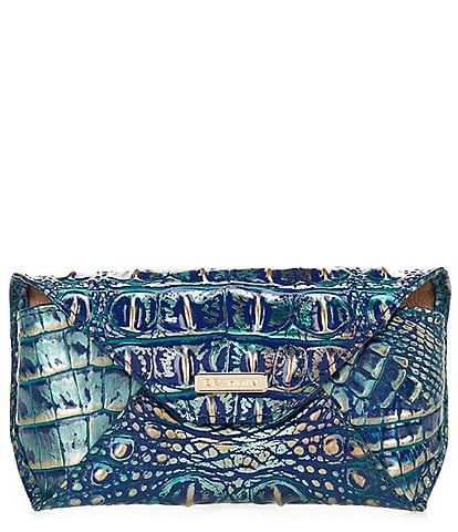 BRAHMIN Melbourne Collection Crocodile Embossed Eyeglass Case