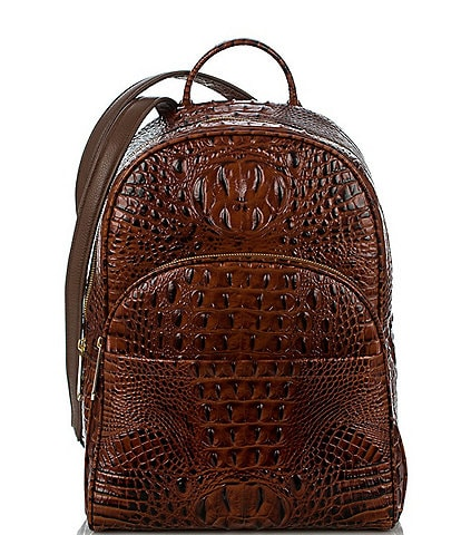 BRAHMIN Melbourne Collection Dartmouth Croco-Embossed Backpack