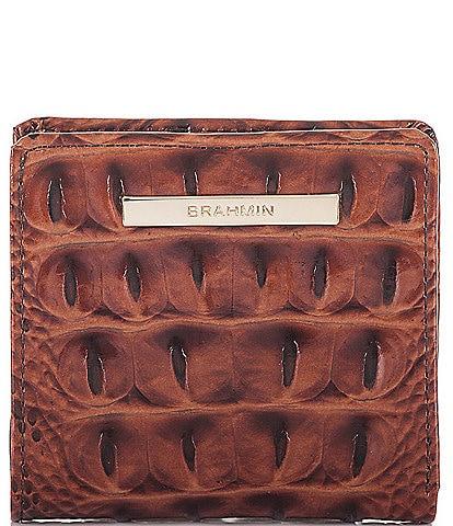 BRAHMIN Melbourne Collection Jane Mini Bifold Wallet