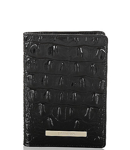 BRAHMIN Melbourne Collection Passport Wallet