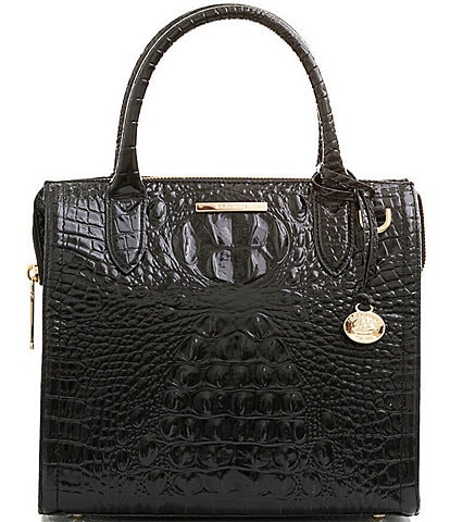 BRAHMIN Melbourne Collection Small Caroline Satchel Bag