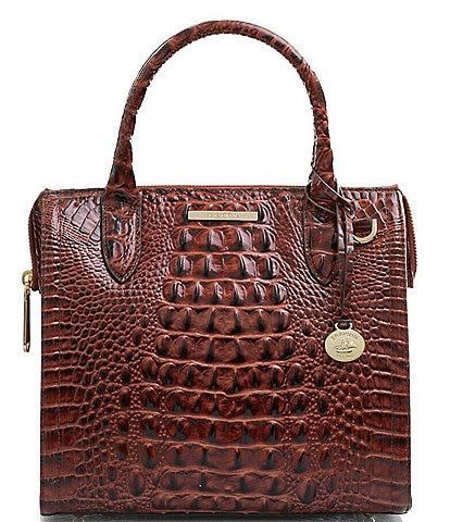 BRAHMIN Melbourne Collection Small Caroline Satchel Bag