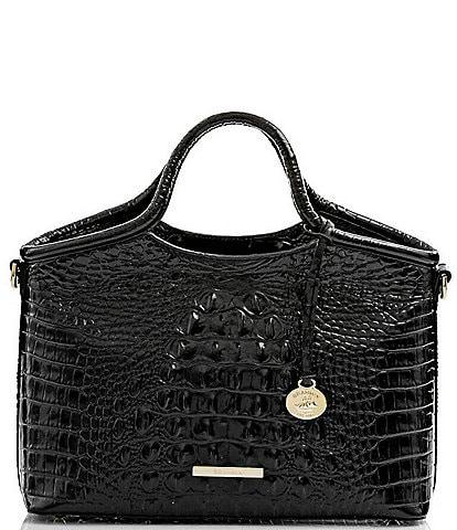 BRAHMIN Melbourne Collection Small Elaine Satchel Bag