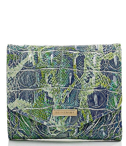 BRAHMIN Melbourne Collection Small Veronica Tri-Fold Wallet
