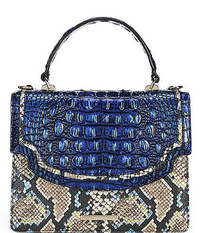 BRAHMIN Monterrey Collection Mini Francine Satchel Bag