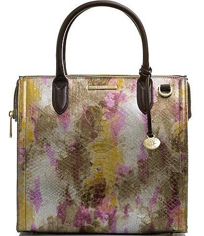 BRAHMIN Multi Mimsy Collection Caroline Satchel Bag