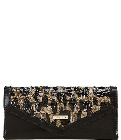 BRAHMIN Snowfall Collection Veronica Envelope Wallet