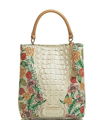 BRAHMIN Tahiti Collection Amelia Bucket Hobo Bag