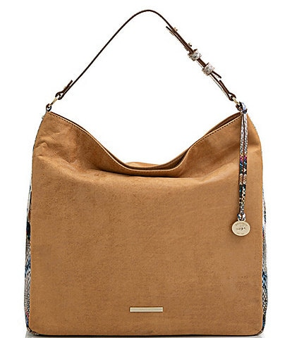 BRAHMIN Whiskey Beaconsfield Collection Isabella Shoulder Bag