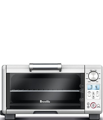 Breville Mini Smart Oven®, 8 functions Toaster Oven, Brushed Stainless Steel