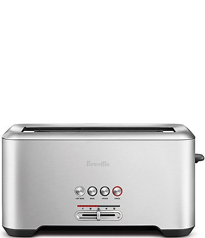 Breville A Bit More'® Long-Slot 4 Slice Stainless Steel Toaster