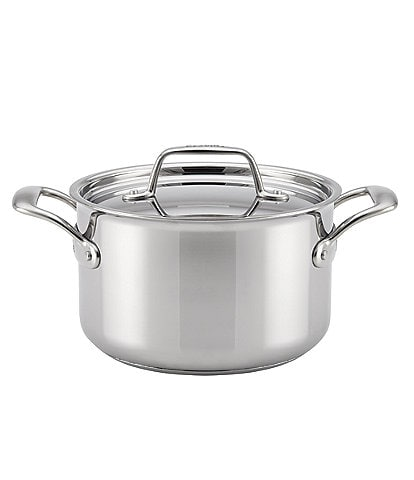 Breville Thermal Pro Clad Stainless Steel Covered Saucepot