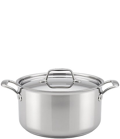 Breville Thermal Pro Clad Stainless Steel Covered Stockpot