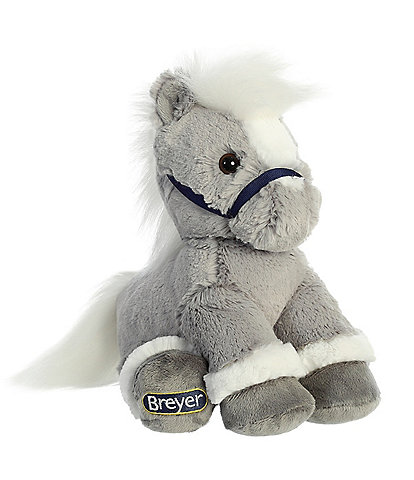 Breyer 11#double; Grey Buddy Horse Plush