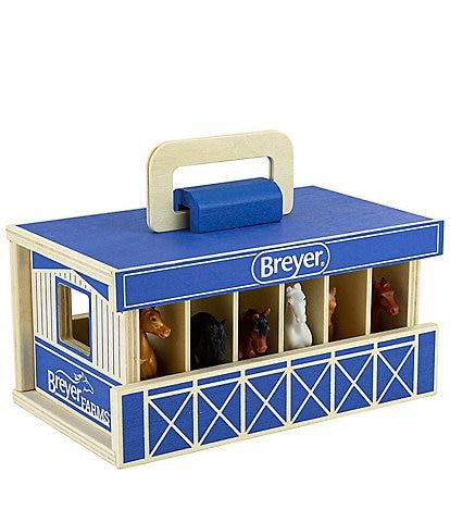 Breyer Horses Wooden Stable Playset