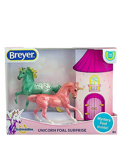 Breyer Mystery Unicorns & Foal Figurines