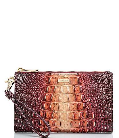 BRAHMIN Melbourne Collection Daisy Ombre Wristlet