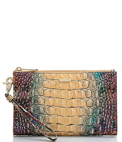 BRAHMIN Melbourne Collection Daisy Wristlet