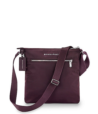 Briggs & Riley Rhapsody Zip Nylon Crossbody Bag