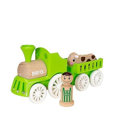 Brio My Home Town Farm Train Set