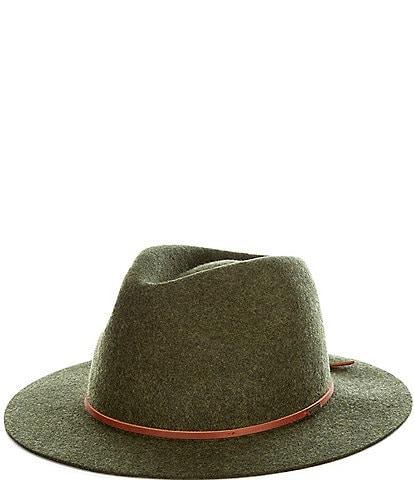 Brixton Felt Wesley Fedora Hat