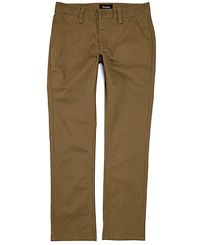 Brixton Reserve Chino Stretch Twill Straight-Fit Pants