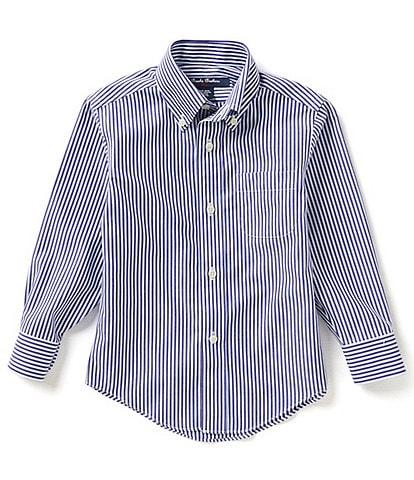 Brooks Brothers Little/Big Boys 4-20 Bangle Striped Woven Shirt