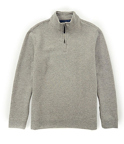 Brooks Brothers Brushed Back Half-Zip Pullover