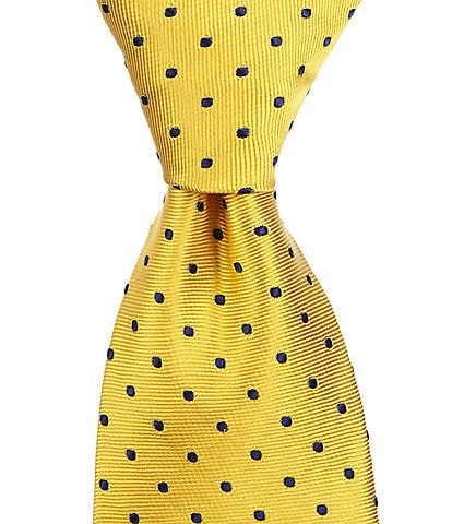 Brooks Brothers Boys Dotted Silk Tie