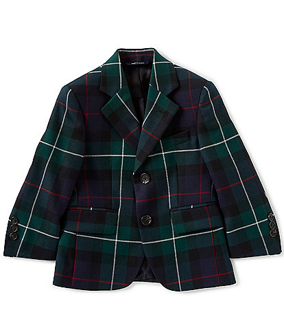 Brooks Brothers Little/Big Boys 4-20 Holiday Plaid Jacket