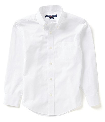 Brooks Brothers Little/Big Boys 4-20 Mini Oxford Dress Shirt