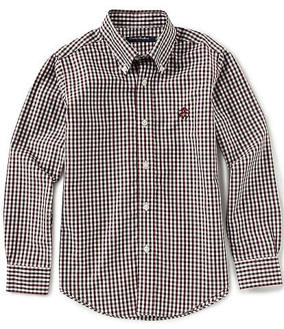 Brooks Brothers Little/Big Boys 4-20 Multi-Color Gingham Non-Iron Sportshirt