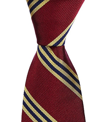 Brooks Brothers Little/Big Boys 50#double; Striped Tie