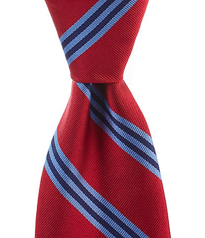 Brooks Brothers Stripe Traditional 3.25#double; Silk Tie