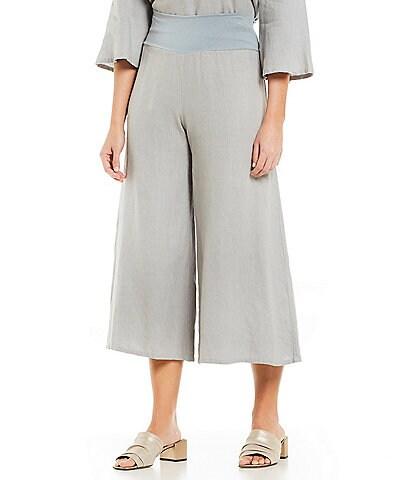 Bryn Walker Ella Wide Cropped Pants