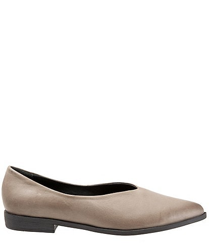 Bueno Billie Leather Slip Ons