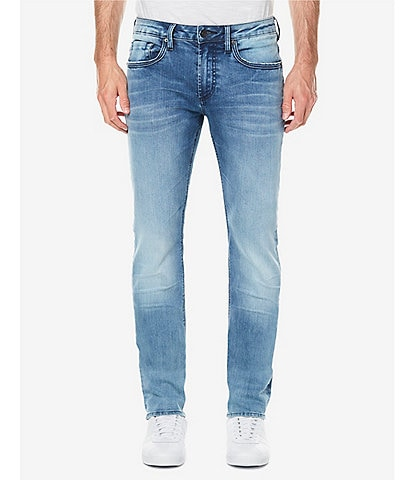 Buffalo David Bitton Ash X Crinkled Slim Fit Jeans