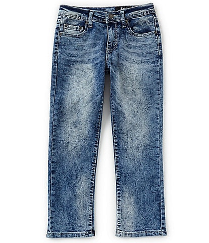 Buffalo David Bitton Big Boys 8-20 Evan Slim Straight Jeans