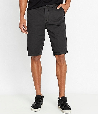Buffalo David Bitton Haplay Side Stripe 9#double; Inseam Shorts