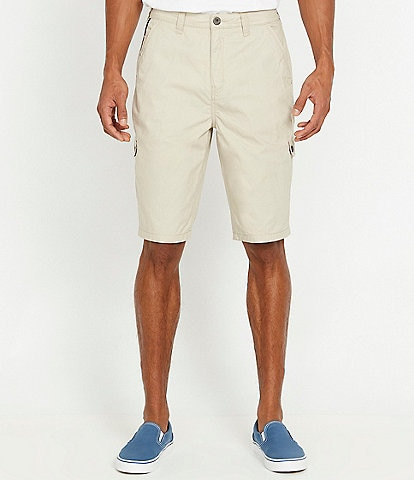 Buffalo David Bitton Howan 10#double; Inseam Cargo Shorts